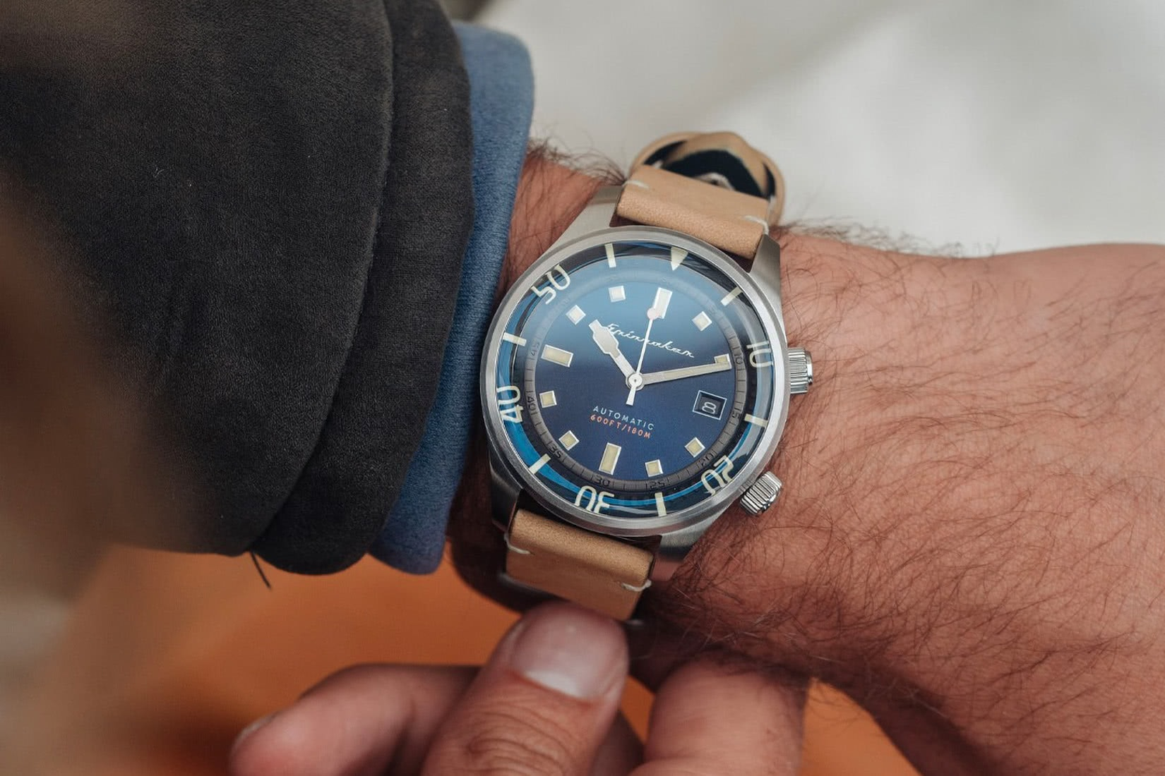 Spinnaker watches review Bradner size - Luxe Digital