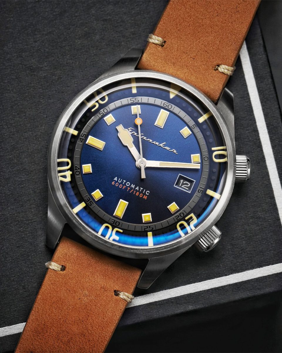 Spinnaker watches review Bradner tidal blue - Luxe Digital