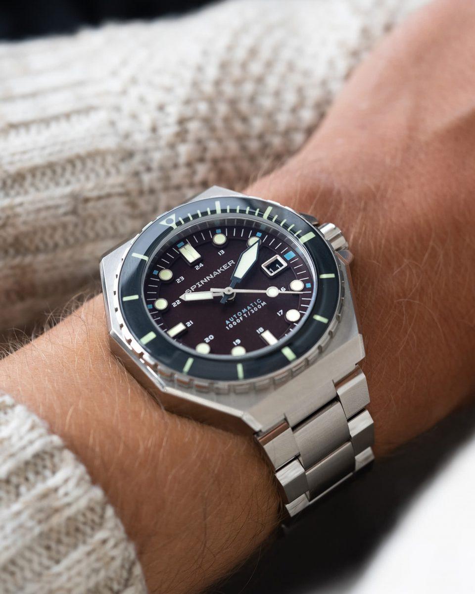 Spinnaker watches review Dumas bordeaux - Luxe Digital