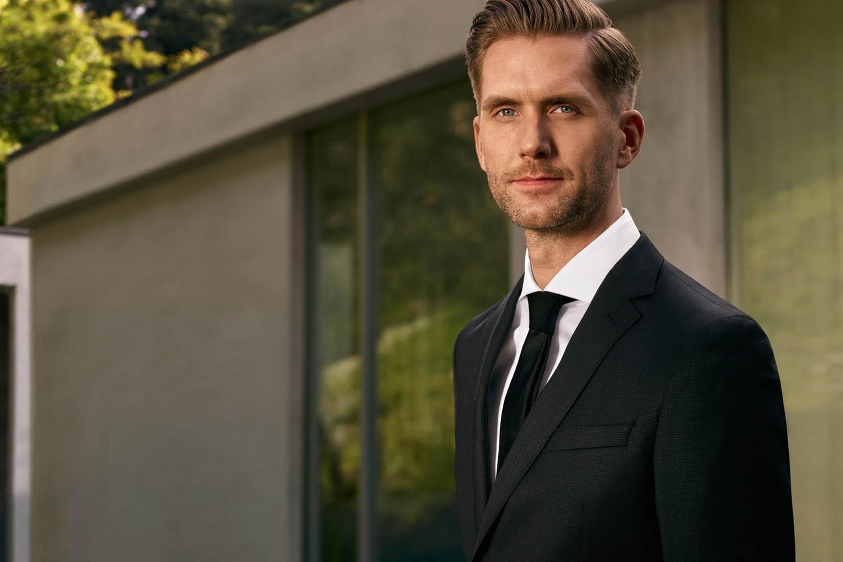 best suit brands men hugo boss review Luxe Digital
