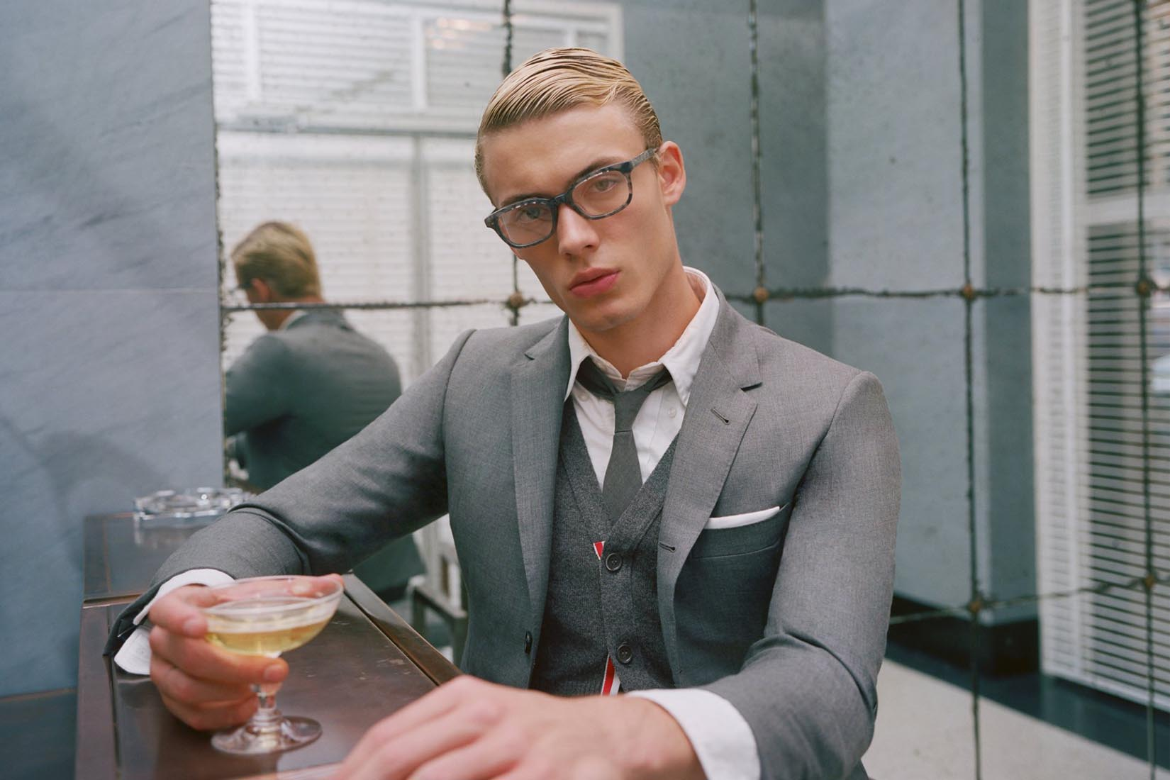 best suit brands men thom browne review Luxe Digital