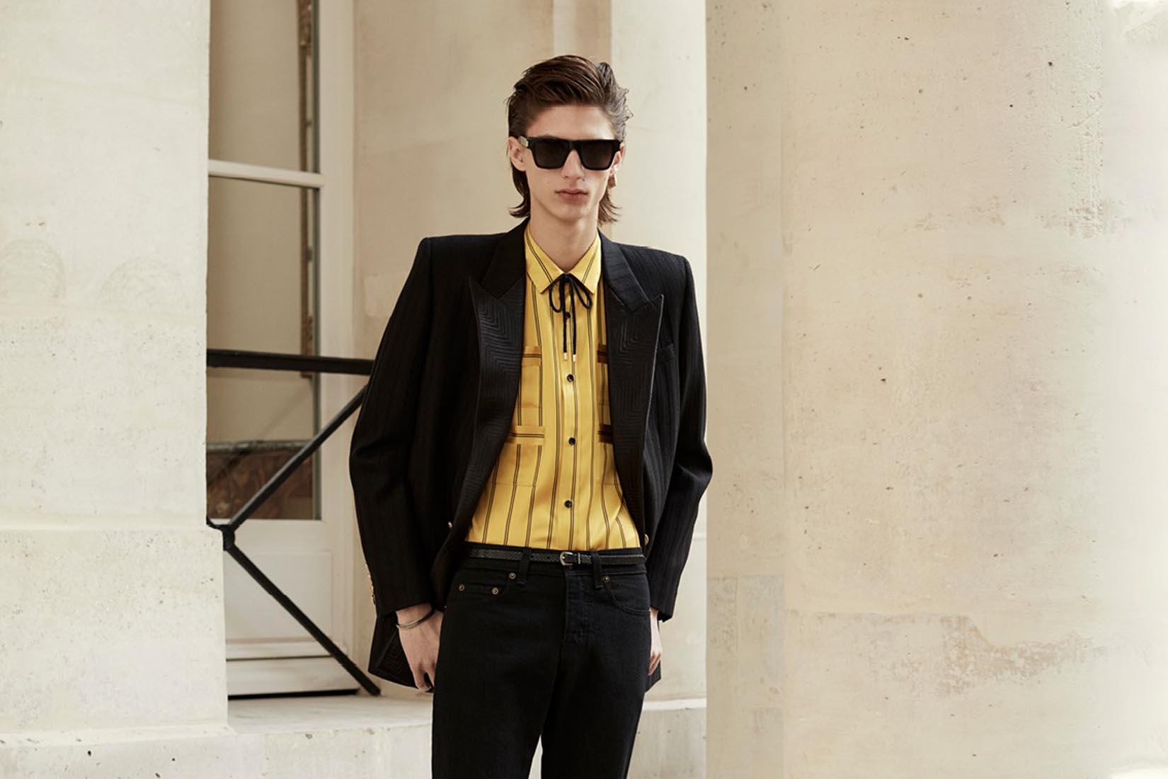 best suit brands men saint laurent review Luxe Digital