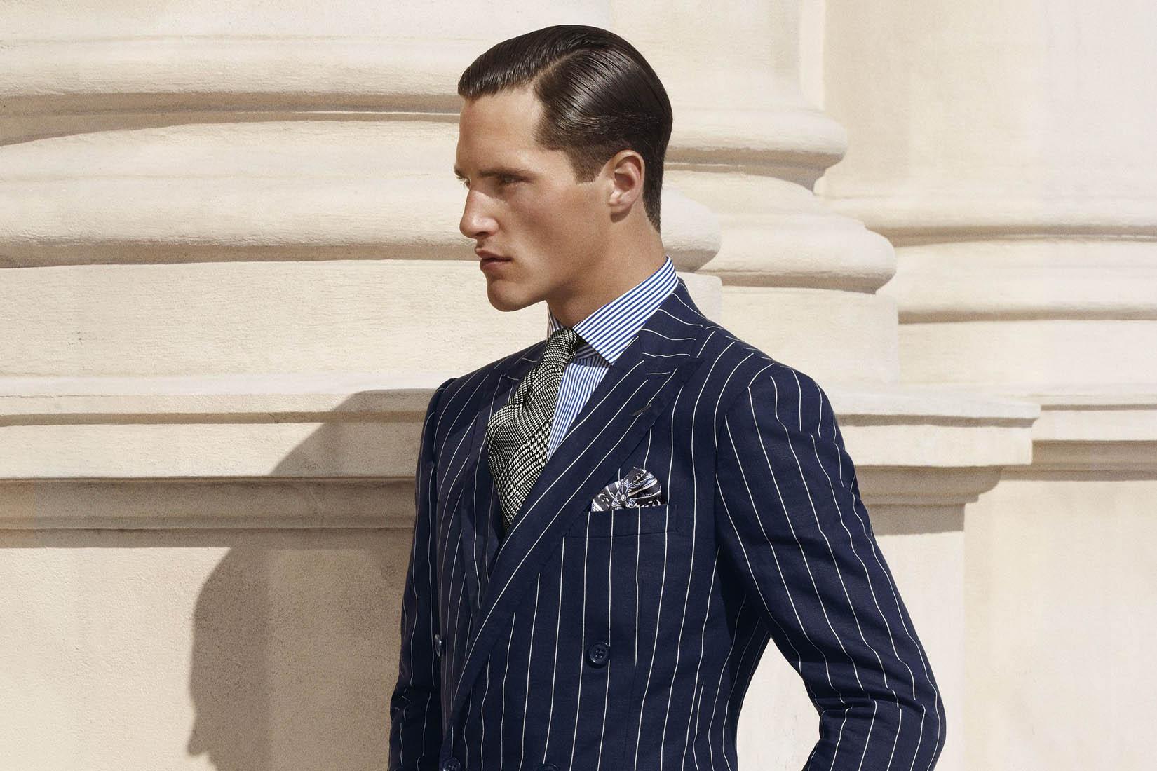 best suit brands men ralph lauren purple label review Luxe Digital