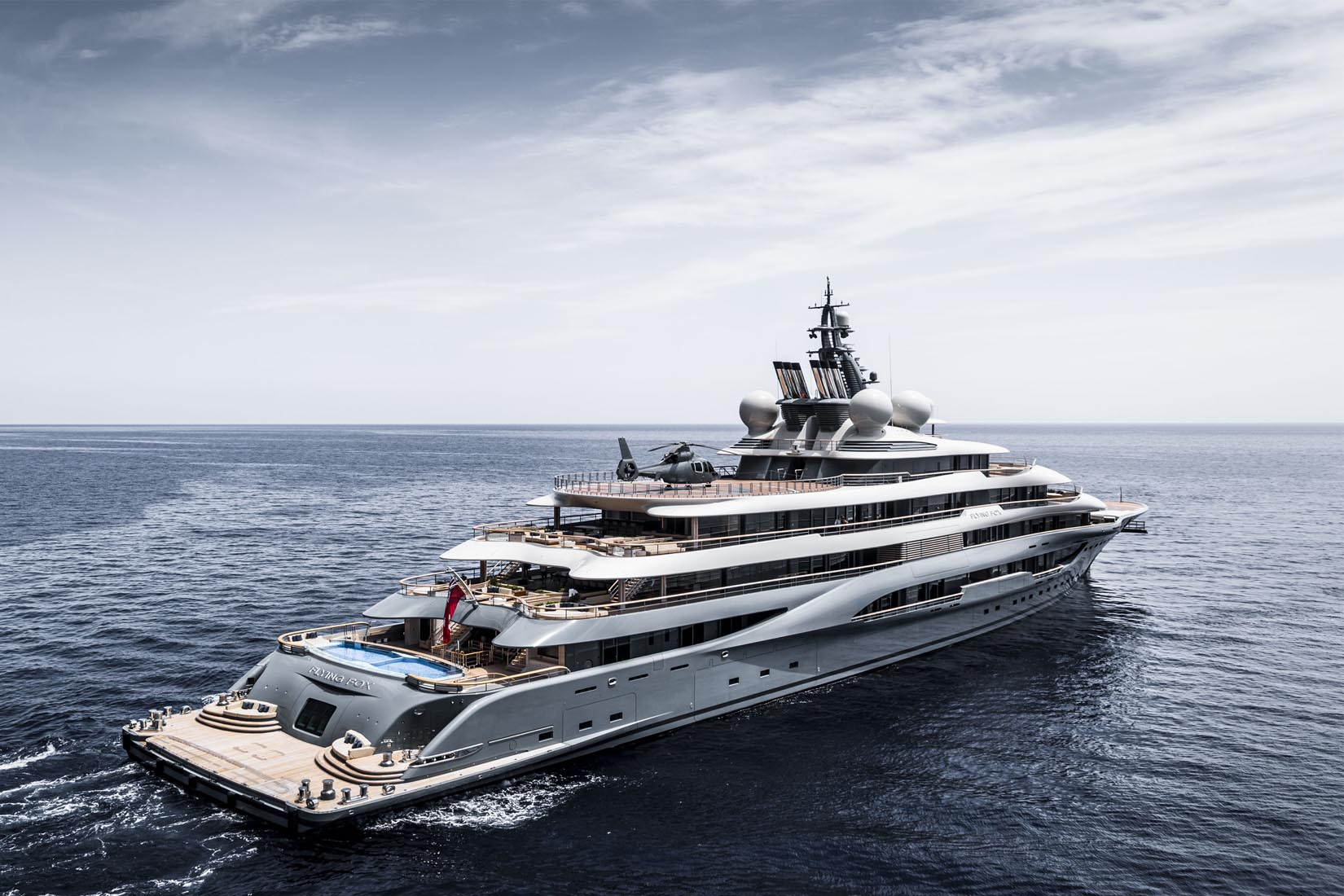 largest yacht flying fox review Luxe Digital