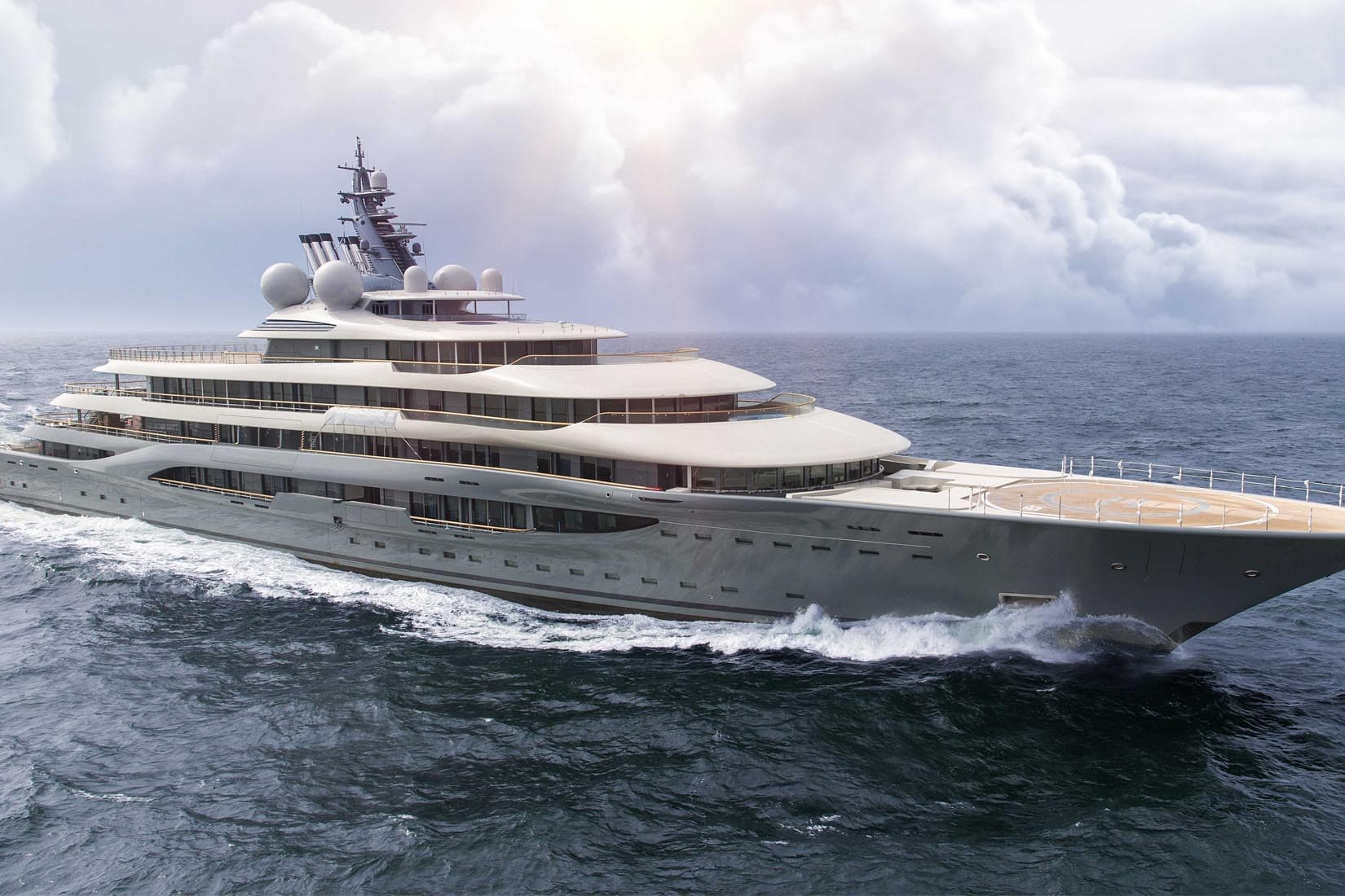 largest yacht A plus review Luxe Digital