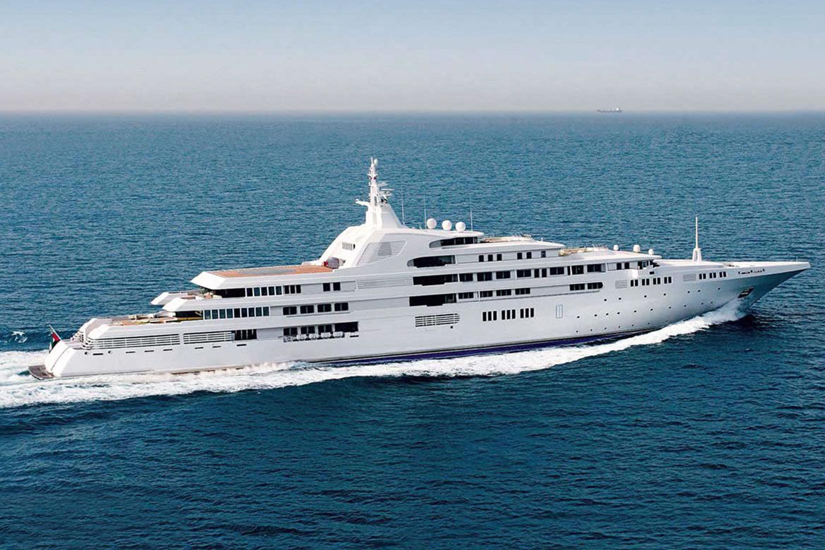 largest yacht dubai review Luxe Digital