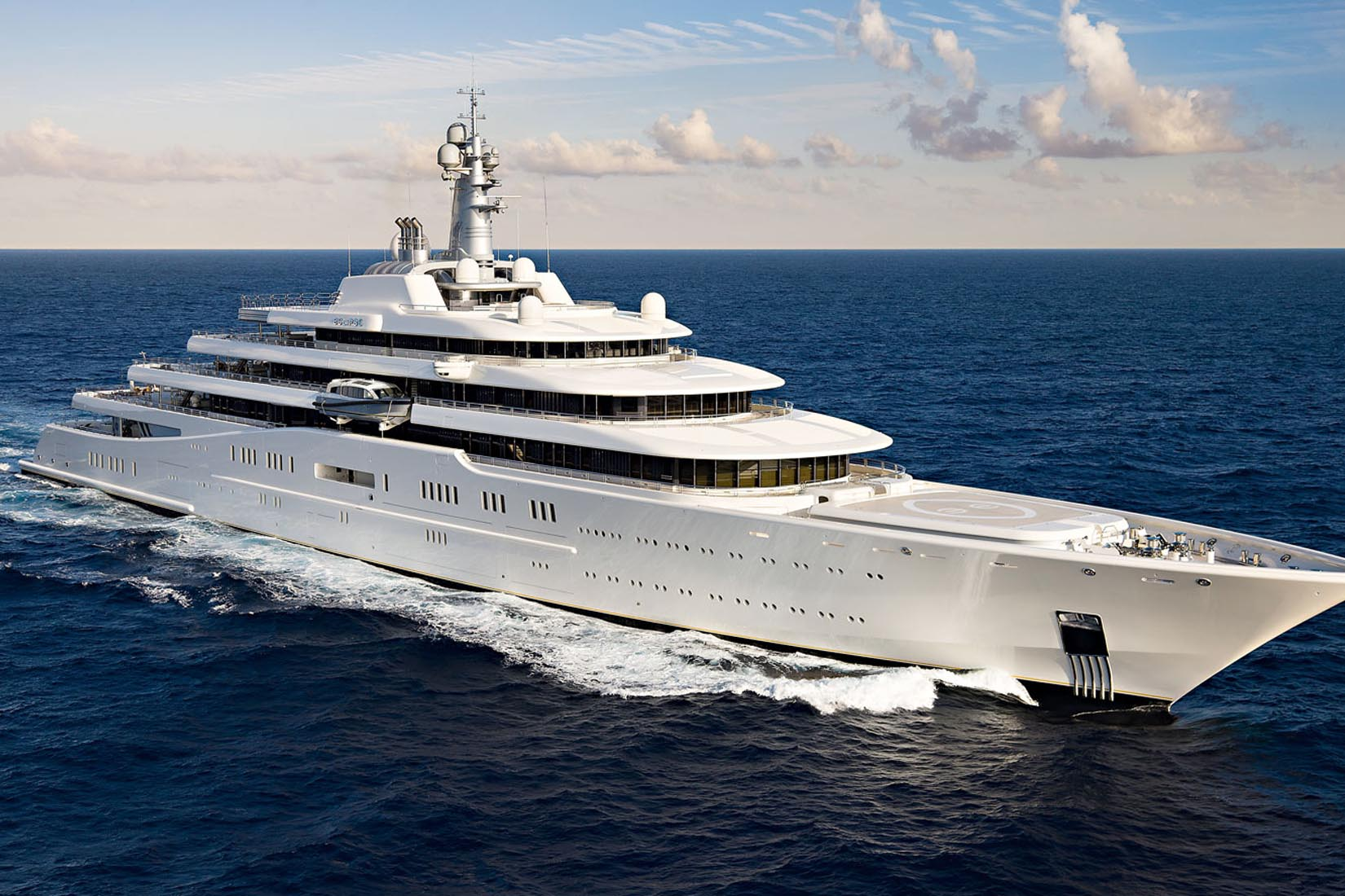 largest yacht eclipse review Luxe Digital