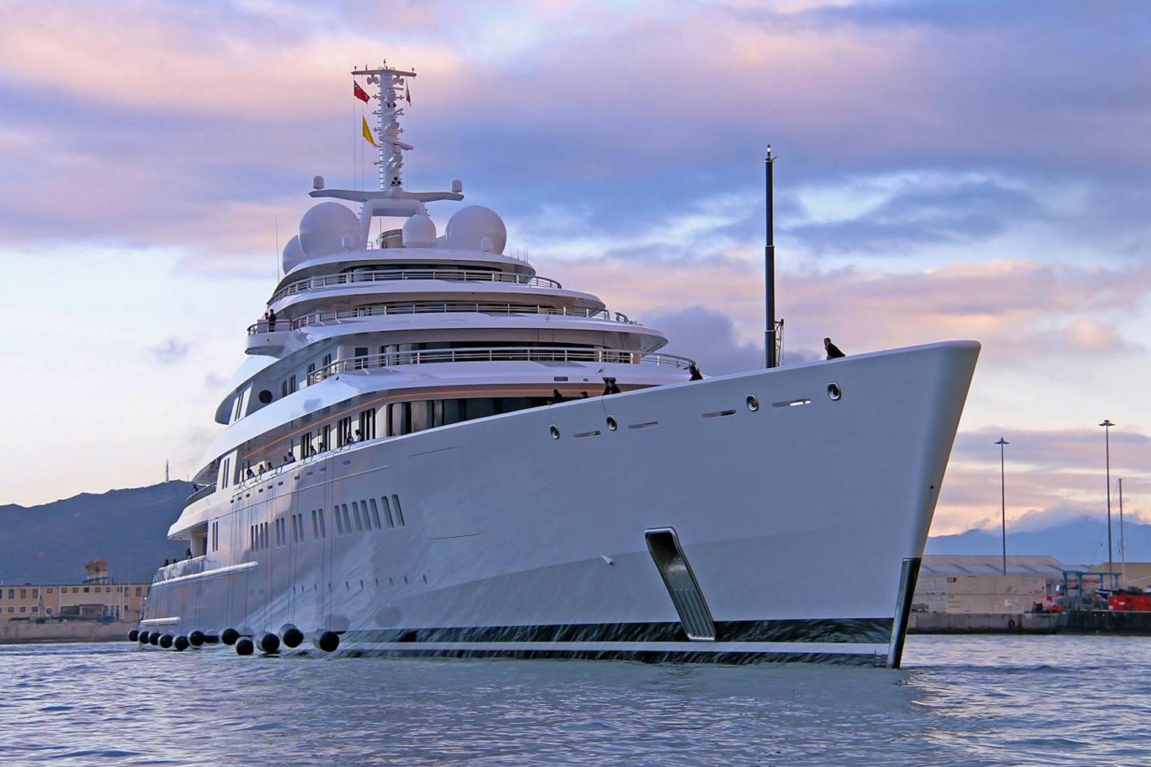 largest yacht azzam review luxe digital