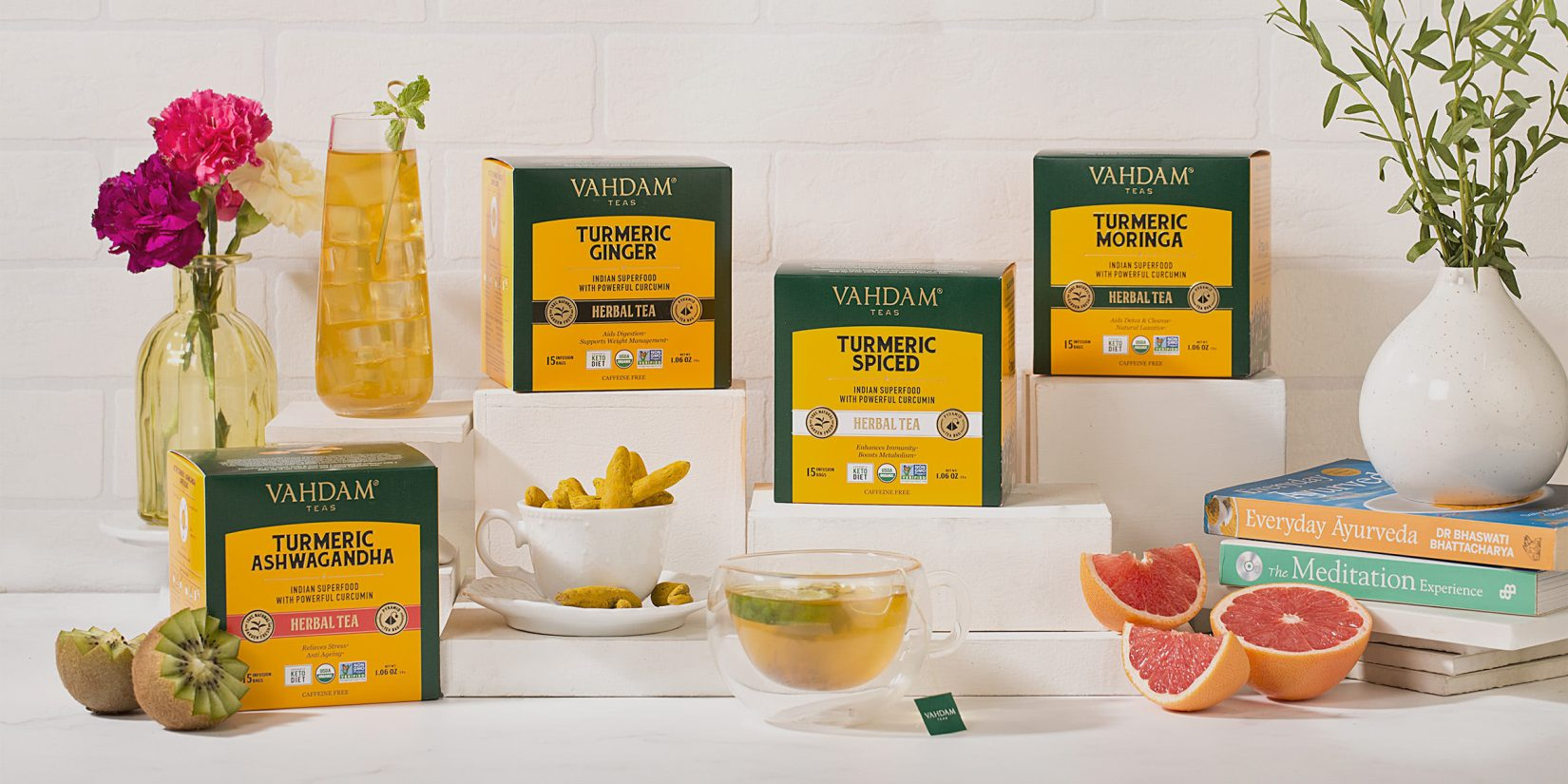 Top Picks From VAHDAM India: Best Of Wellness Teas With A Purpose