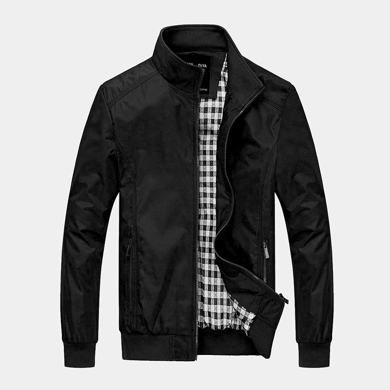 best black bomber jacket men Nantersan luxury style - Luxe Digital