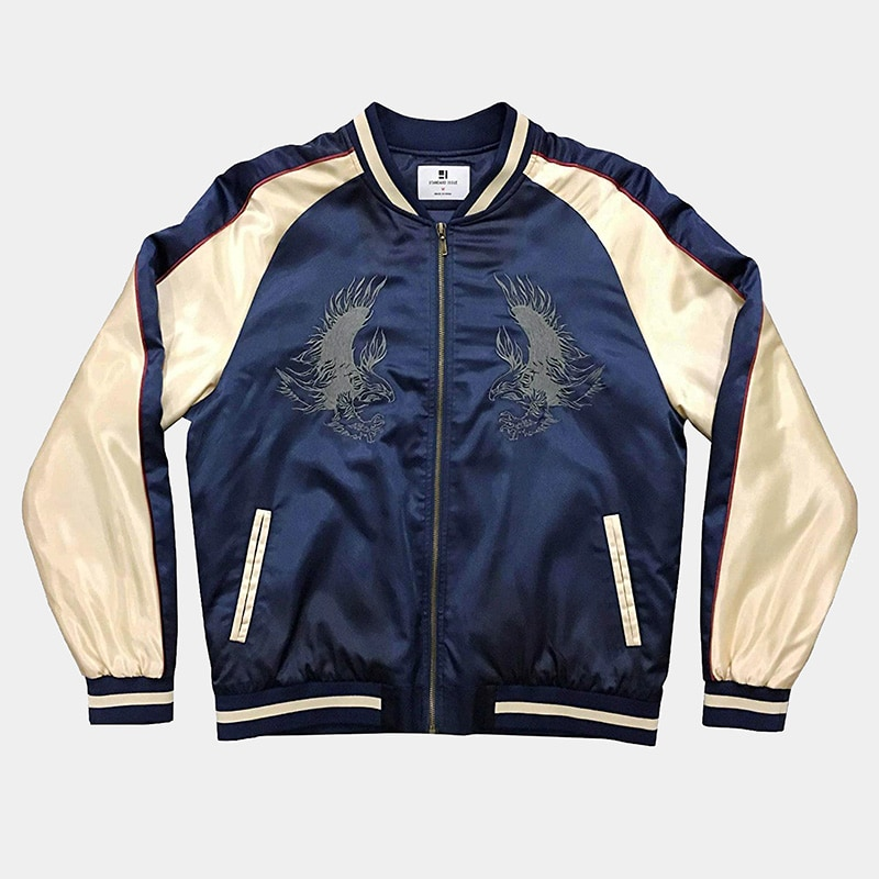 best Japanese bomber jacket men Standard Issue luxury style - Luxe Digital