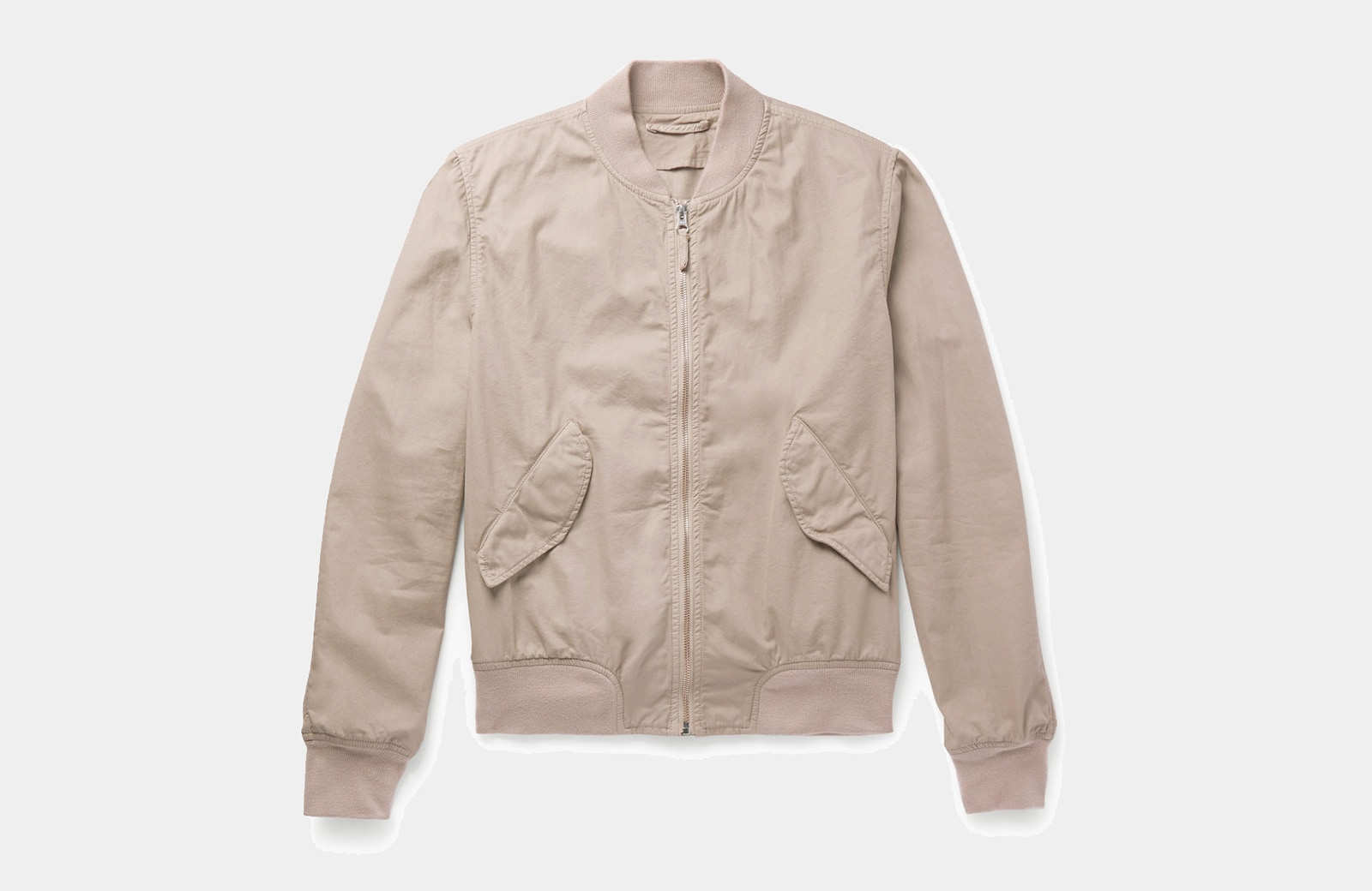 best khaki bomber jacket men Aspesi luxury style - Luxe Digital