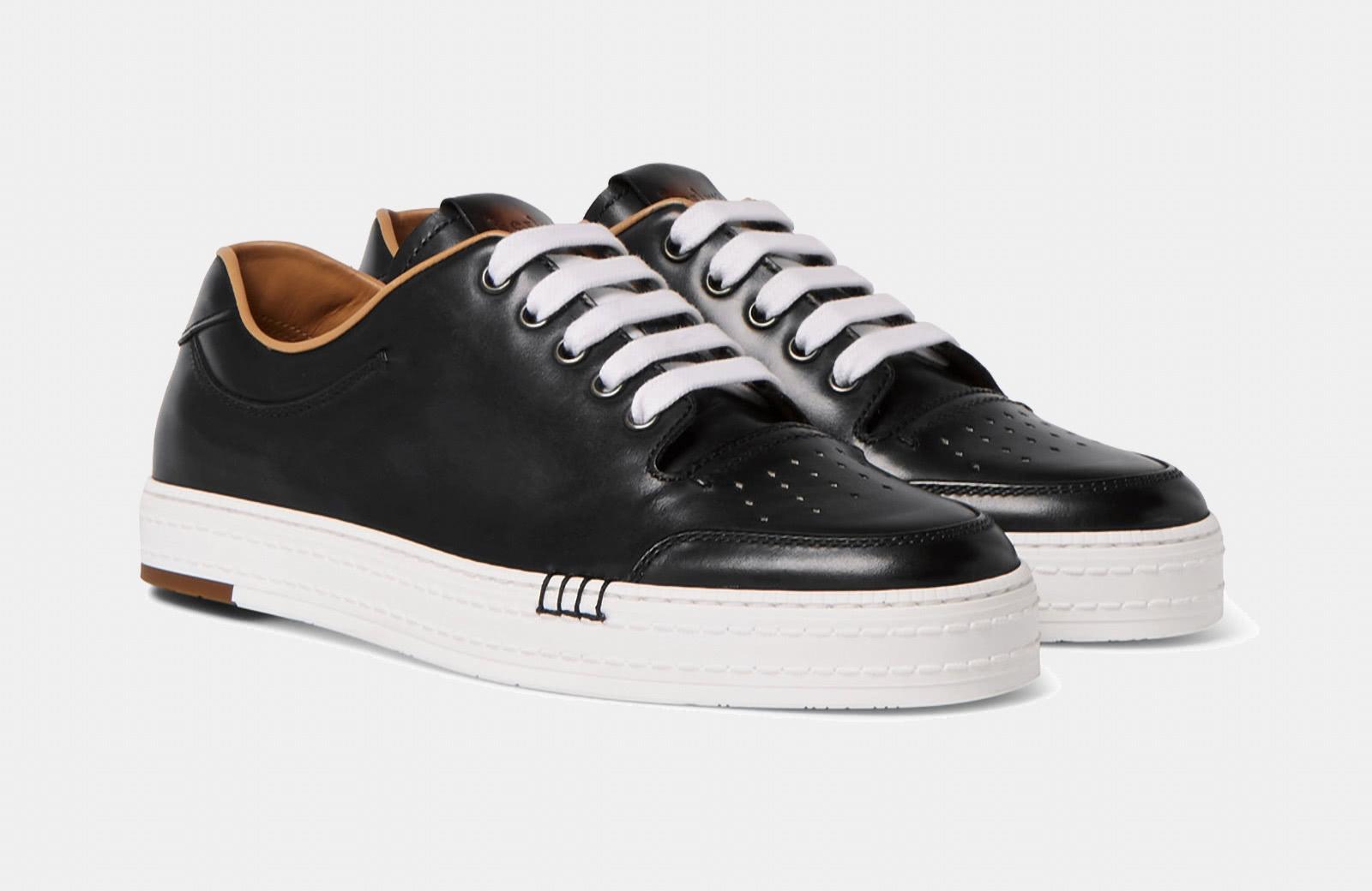 best black and white sneaker men Berluti luxury style - Luxe Digital