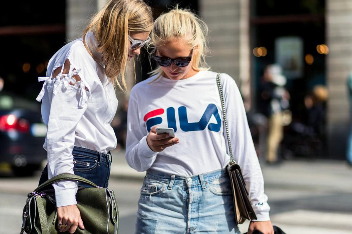 Fila athleisure fashion luxury - Luxe Digital