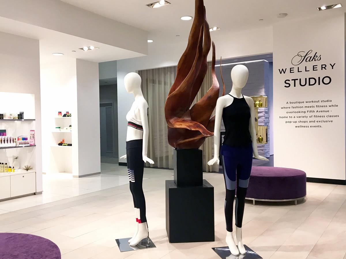 Saks Fifth Avenue Wellness luxury - Luxe Digital