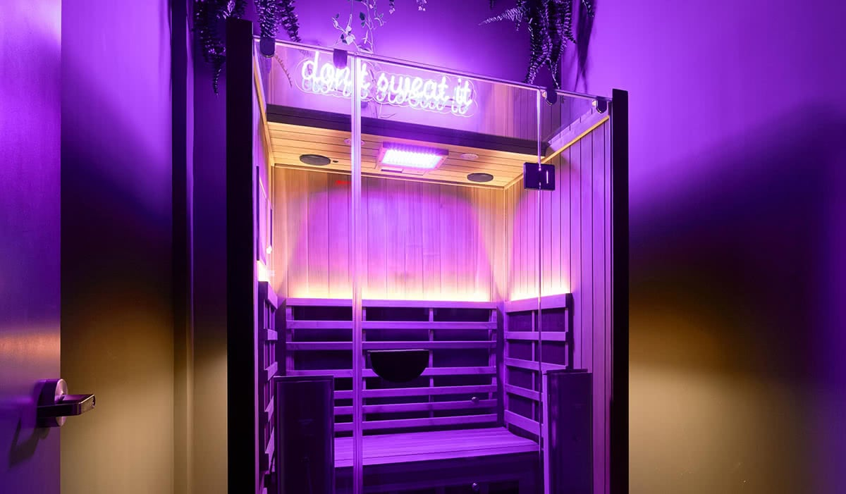 luxury wellness fitness performix house sauna luxe digital