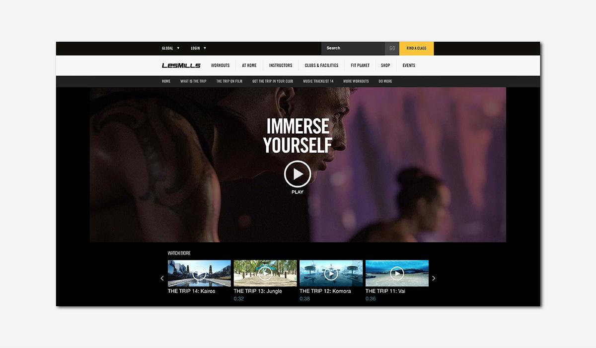 wellness luxury fitness virtual reality les mills luxe digital