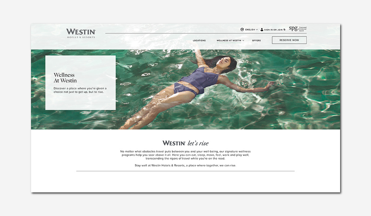 luxury wellness travel westin hotels resorts luxe digital