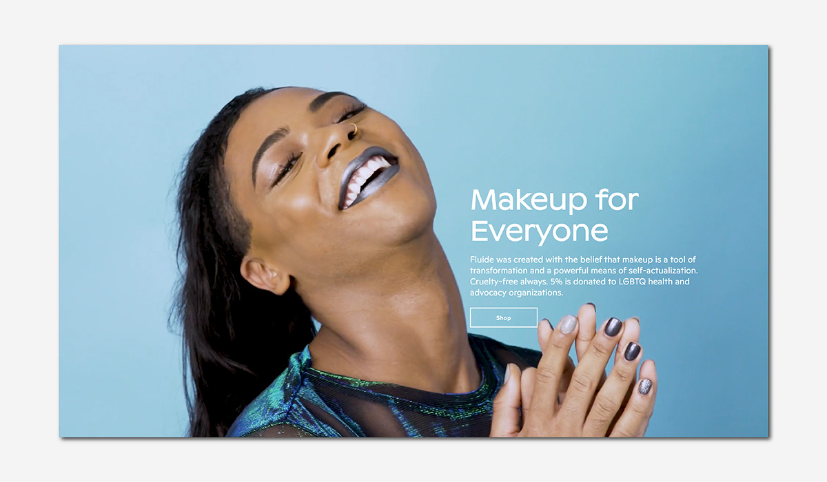 wellness luxury beauty fluide genderless makeup luxe digital