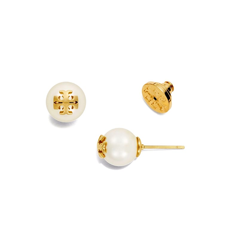 best christmas gifts for her tory burch pearl stud earring luxe digital