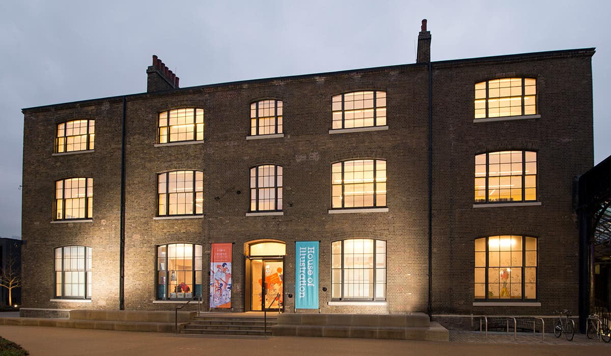 Best Museums And Art Galleries In London: House Of Illustrations - Luxe Digital