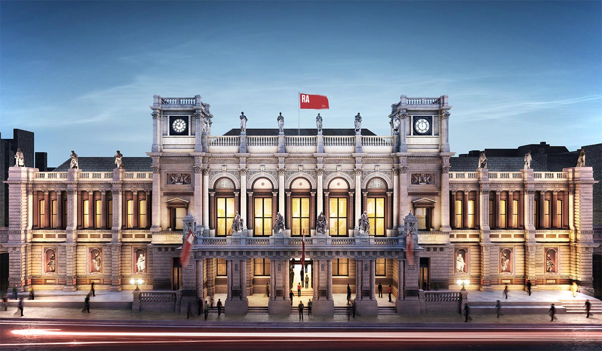 Best Museums And Art Galleries In London: Royal Academy Of Arts - Luxe Digital
