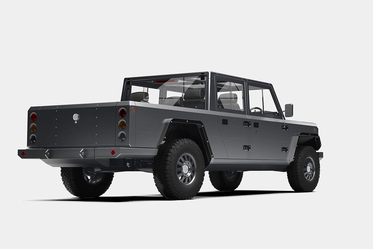 B2 ev pickup truck luxury cars - Luxe Digital