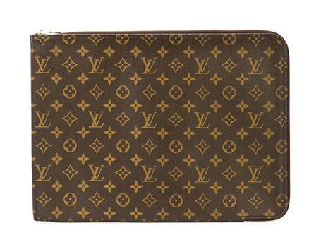 men Louis Vuitton Laptop travel clutch bag - Luxe Digital