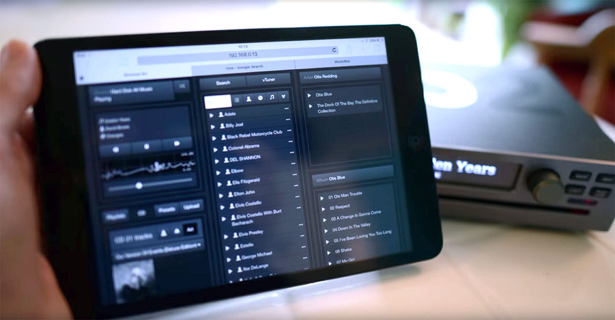 Brennan B2 Review iPad streaming - Luxe Digital