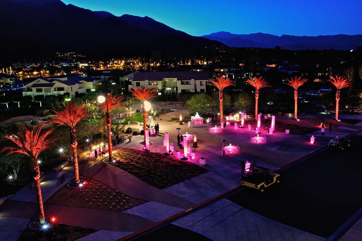 Palm Springs Convention Centre outside events space