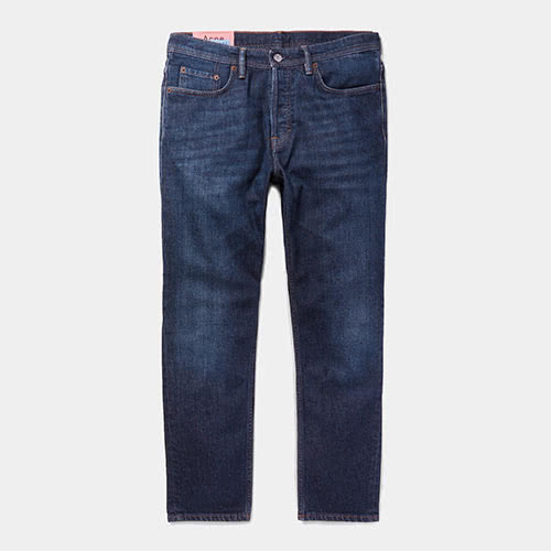 Casual dress code men style designer blue jeans - Luxe Digital