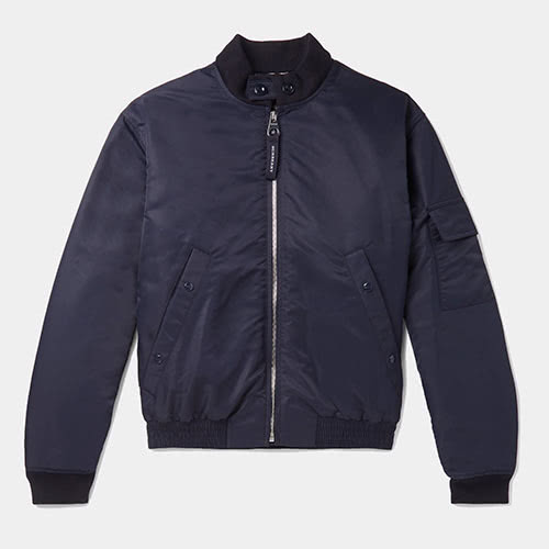 Casual dress code men style designer Burberry jacket - Luxe Digital