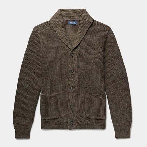 Casual dress code men style Polo Ralph Lauren knitwear cardigan - Luxe Digital
