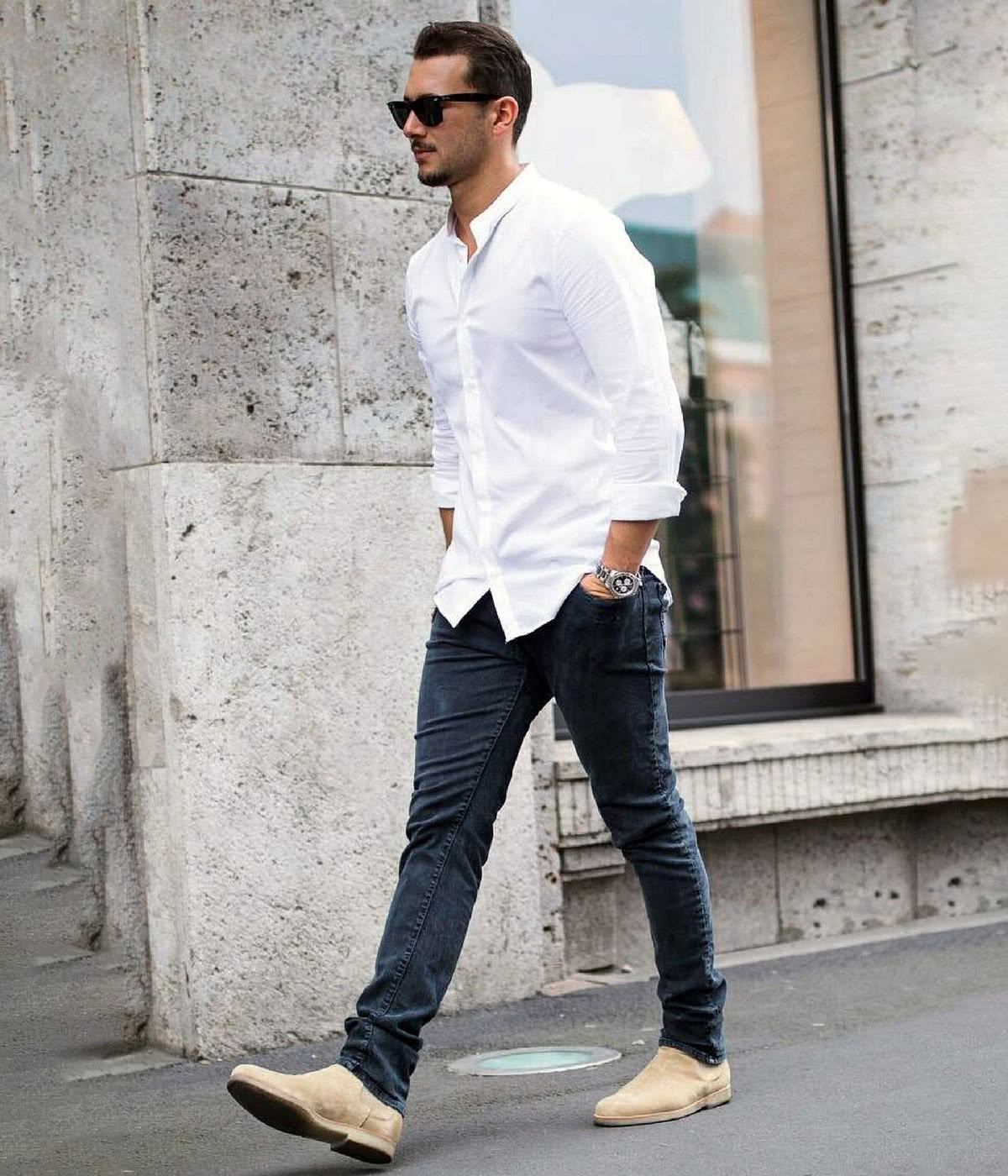 Casual dress code men style summer , Luxe Digital