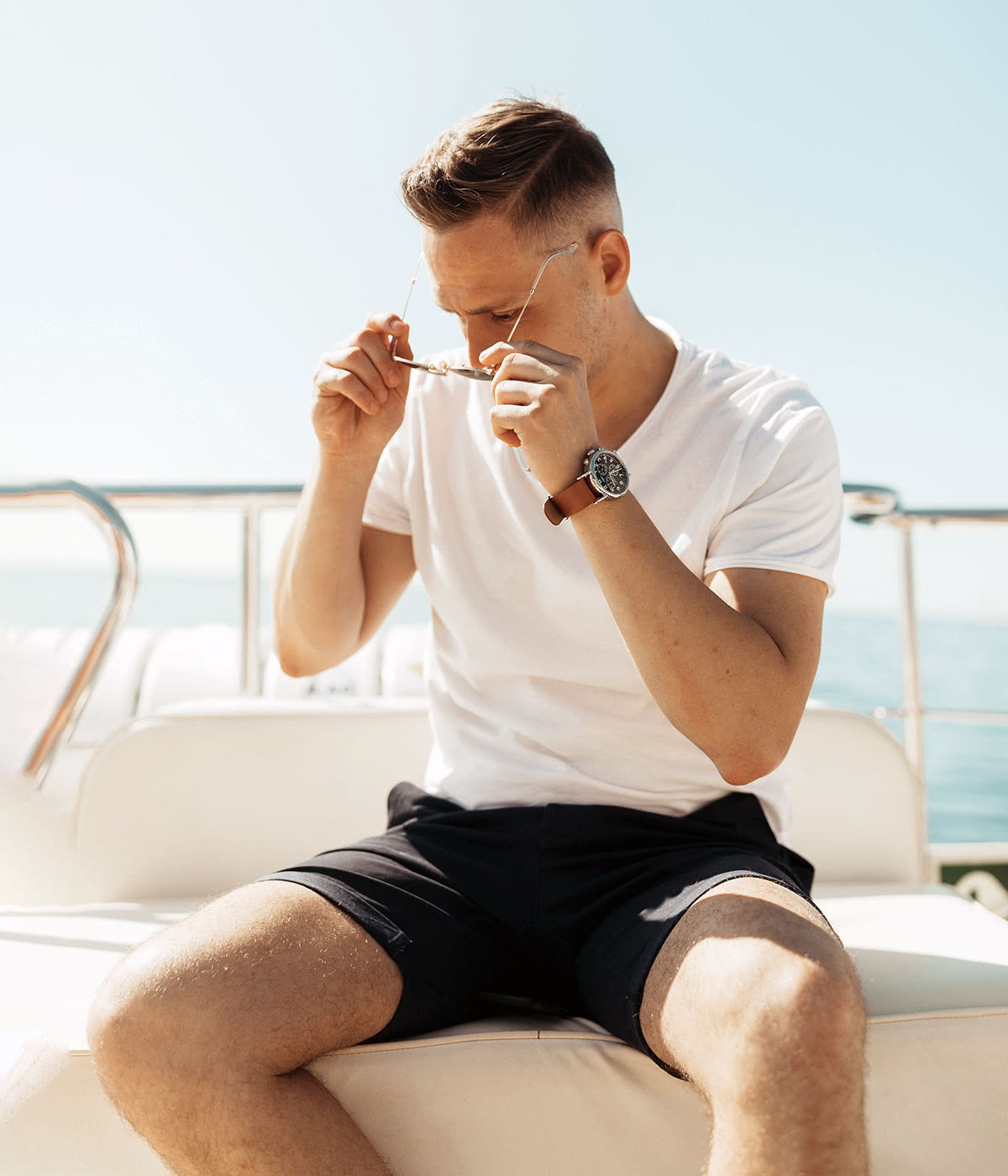 Casual dress code men style summer shorts - Luxe Digital