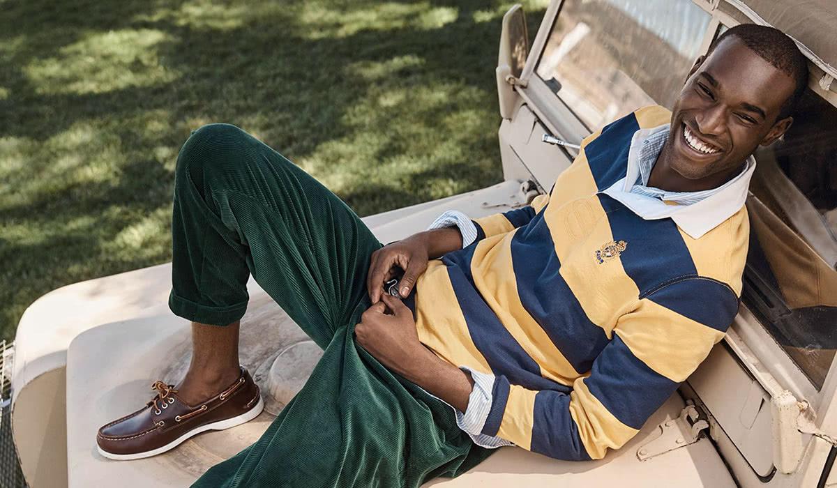Casual men dress code style Ralph Lauren - Luxe Digital