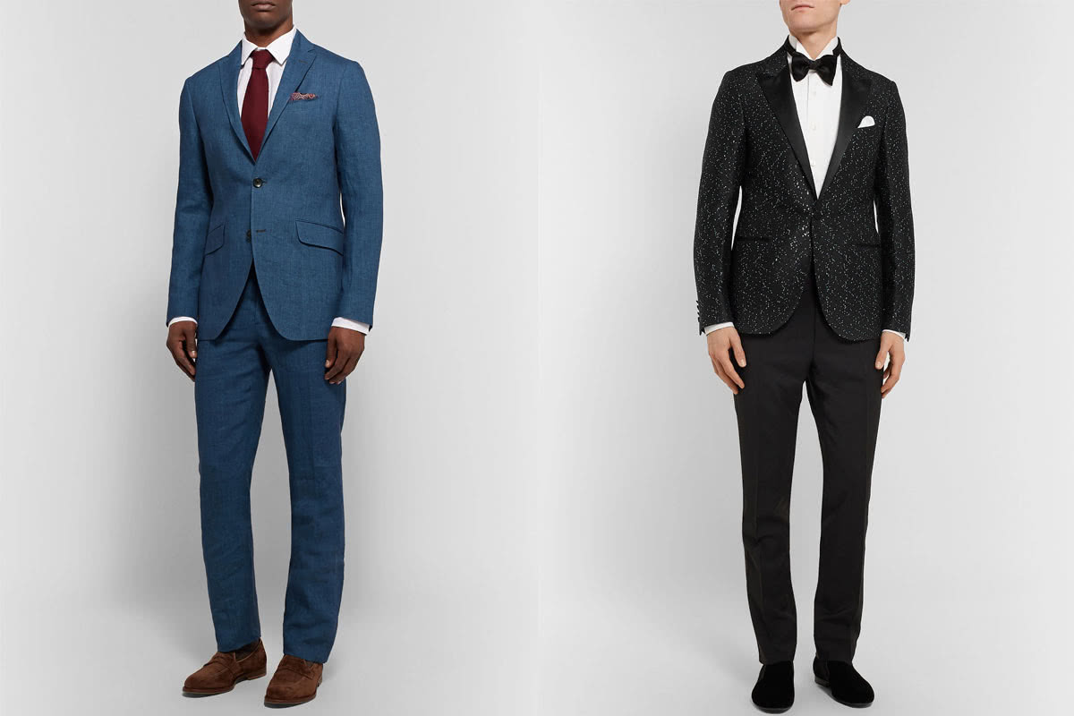 cocktail attire men business vs party - Luxe Digital