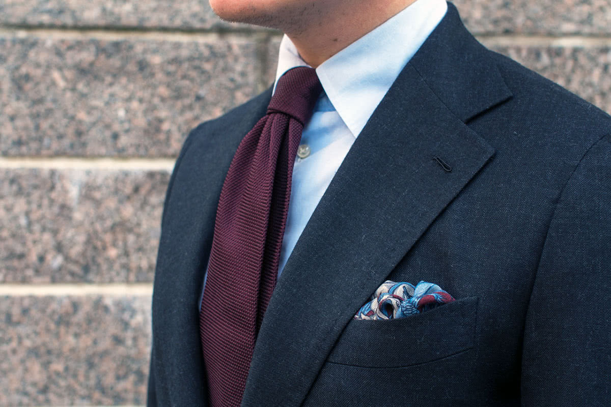 cocktail attire men need tie pocket square - Luxe Digital
