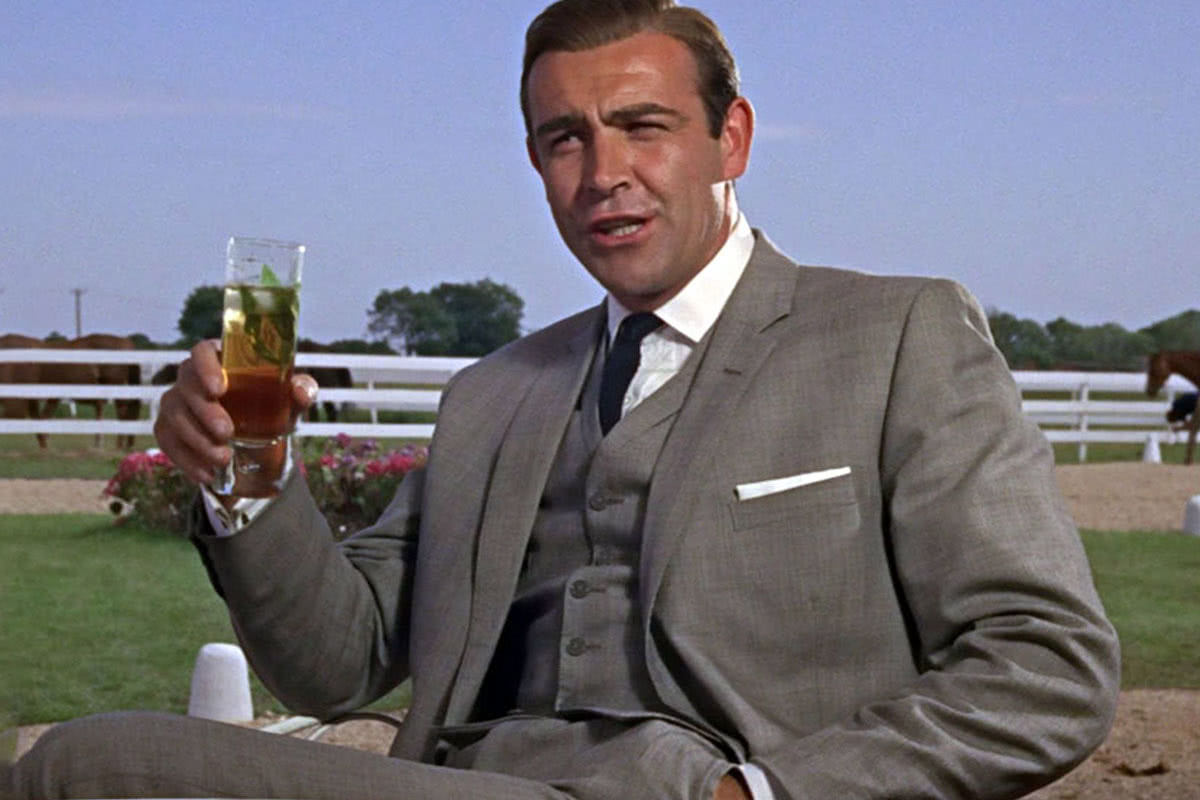 James Bond cocktail attire men Sean Connery luxury - Luxe Digital