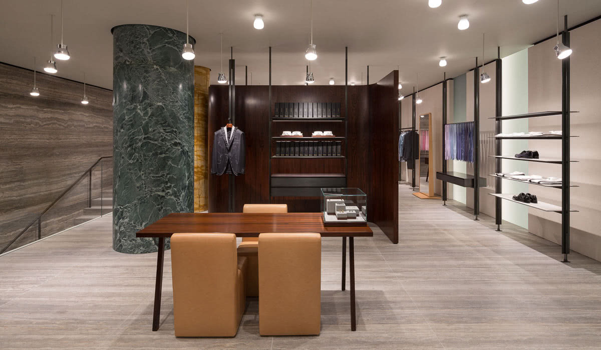 men style guide Brioni store luxury - Luxe Digital
