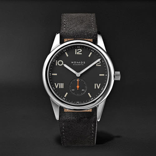 men dress code style luxury watch Nomos - Luxe Digital