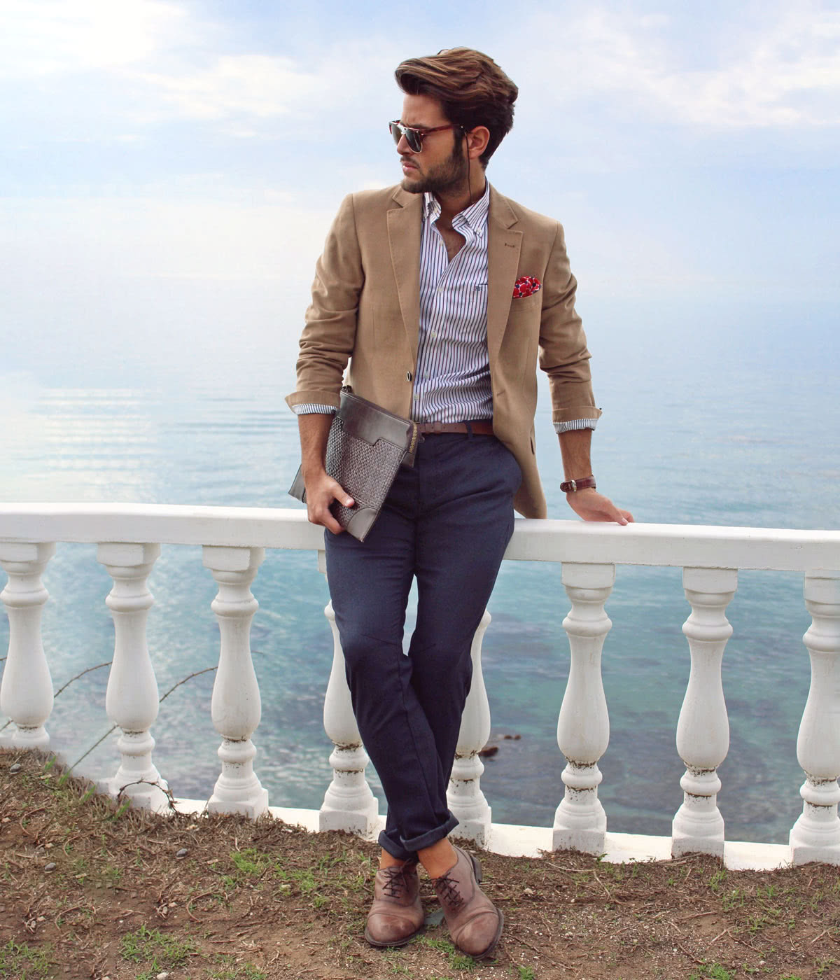 smart casual dress code men summer style - Luxe Digital
