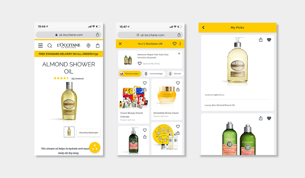 AI personalisation luxury ecommerce loccitane machine learning luxe digital