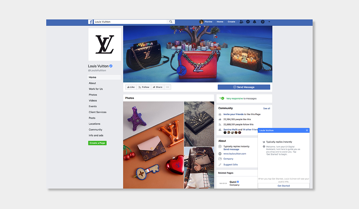 AI personalisation luxury ecommerce louis vuitton chatbot luxe digital