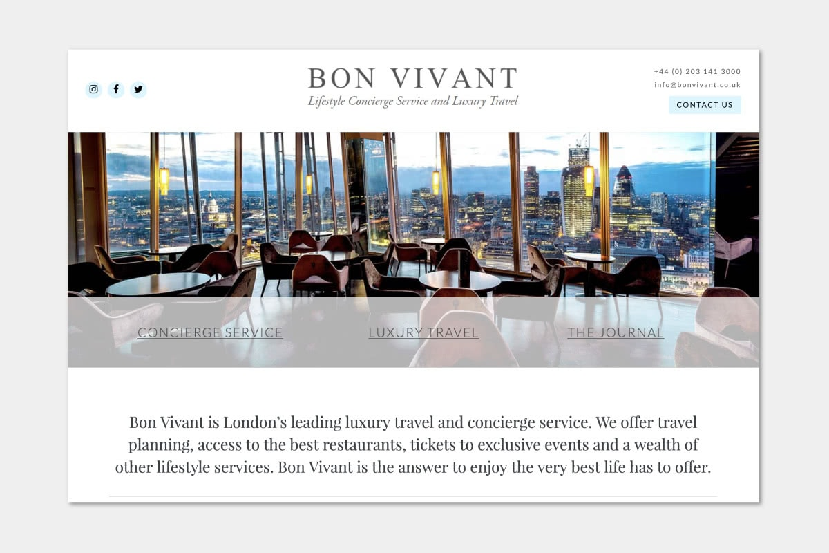 Best Luxury Concierge Companies Bon Vivant   Luxe Digital