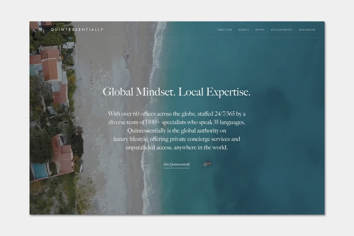 Best Luxury Concierge companies Quintessentially - Luxe Digital