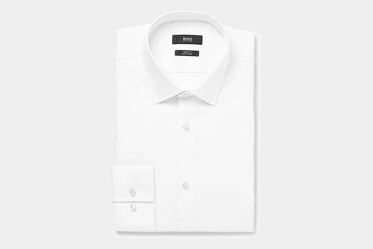 business professional men shirt Hugo Boss luxury - Luxe Digital