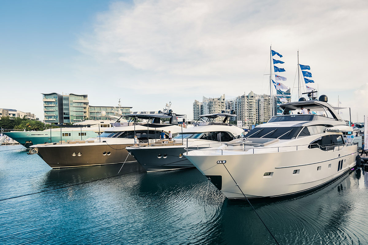 Singapore Yacht Show 2019 luxury boat - Luxe Digital