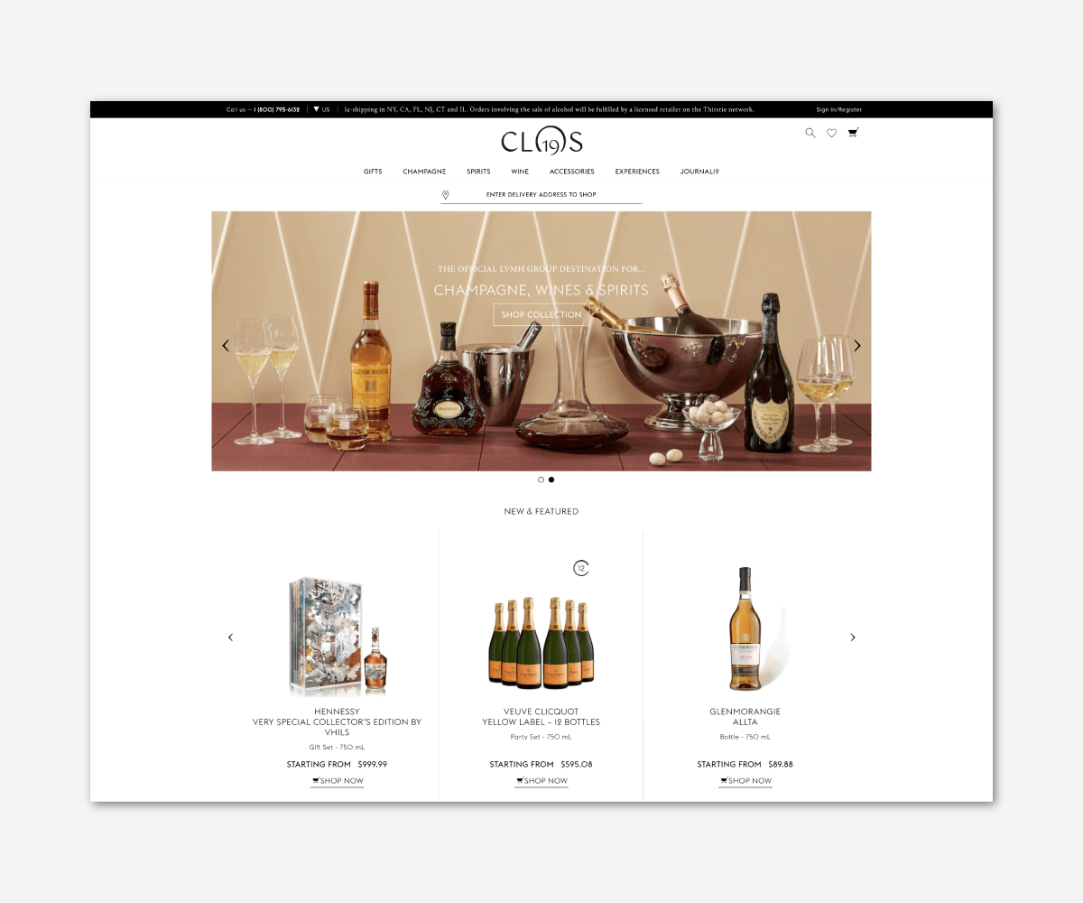 Experiential Luxury LVMH Clos 19 - Luxe Digital