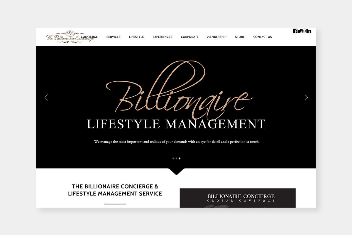 Best Luxury Concierge companies The Billionaire - Luxe Digital